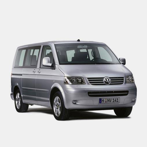 VW Caravelle avec chauffeur