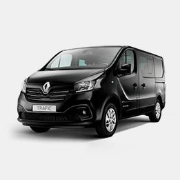 Trafic Renault avec chauffeur / 8 places